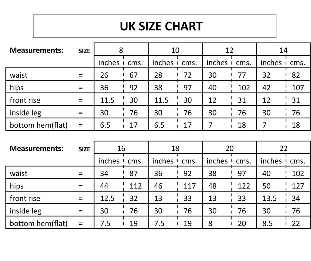 Compare your measurements to a sizing chart. For example, a woman with a inch waist and inch hips would likely be a